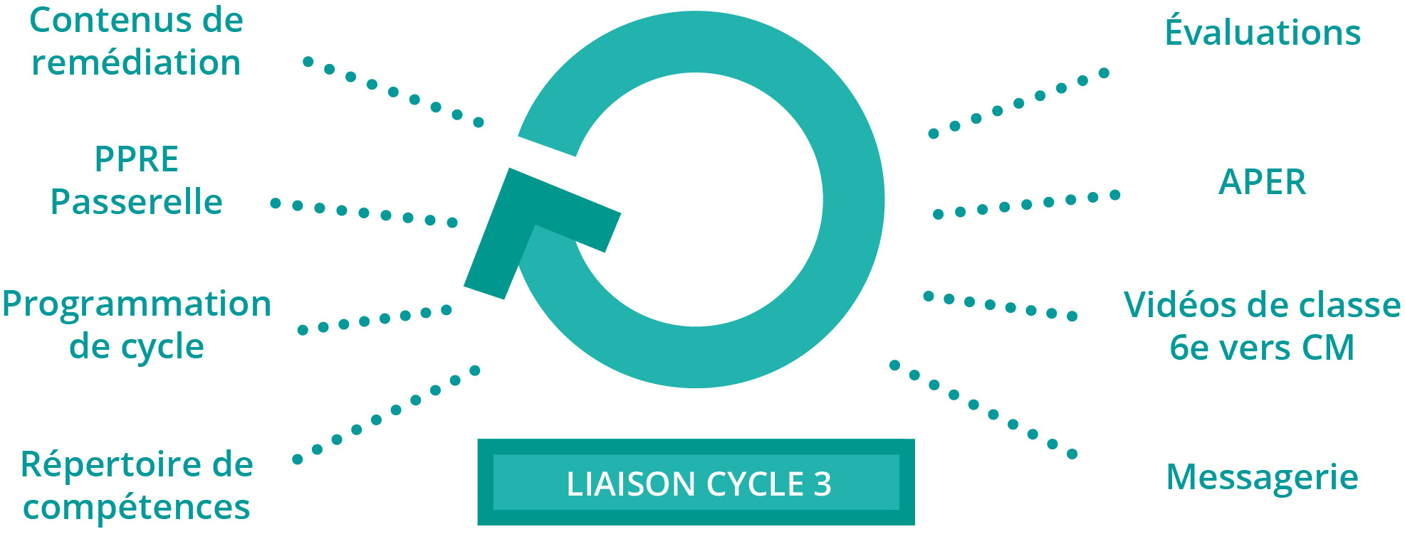 exemples liaison cycle 3